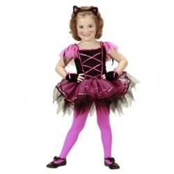 Detský karnevalový kostým - Balerína mačička