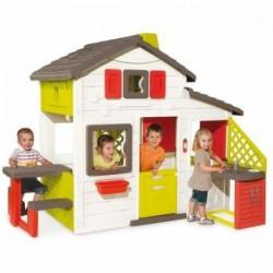 SMOBY Detský záhradný domček Friends s funkciou vody