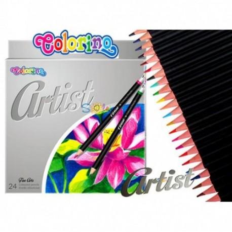 Colorino Artist farebné ceruzky 24 ks