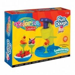 Colorino Kids plastelínový set Zmrzlináreň