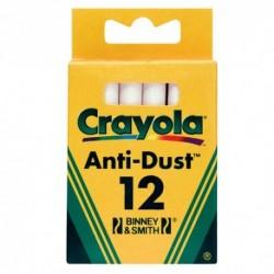 Crayola - biele kriedy 12 ks