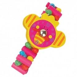 Detské drevené hodinky - sloník