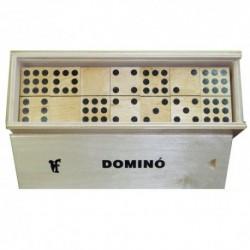 Drevené domino - 55 dielikov