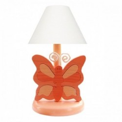 Detská nočná lampa - motýľ oranžový