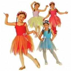 Detský karnevalový kostým - Kvietková víla