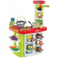 ÉCOIFFIER detský obchodík Super Shop s košíkom a potravinami