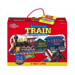 T.S. Shure Jumbo obrovské puzzle - 122cm-ový vlak