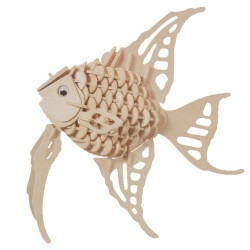 Drevený model natur - Ryba