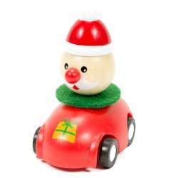 Drevené autíčko na zotrvačník - Mikuláš