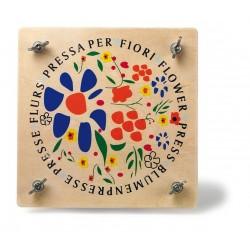 LEGLER Drevený lis na kvetiny - natur