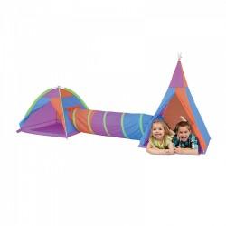 IPLAY Detský 2-dielny stan na hranie Dobrodružstvo