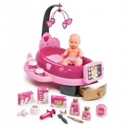 SMOBY Baby Nurse opatrovateľské centrum s bábikou Zlatá edícia