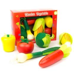 Detské potraviny z dreva - zelenina