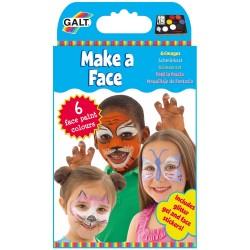 GALT Farby na tvár - malý set - základné farby