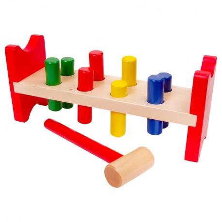 Zatĺkačka - farebné kolíky