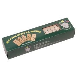 Drevené domino