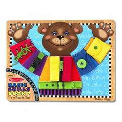Drevené didaktické puzzle - Základné zručnosti