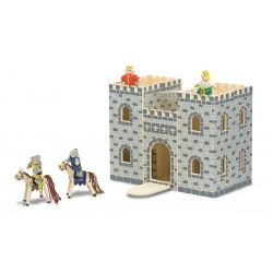 Drevený otvárateľný rytiersky hrad