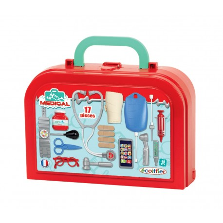 ÉCOIFFIER - Doktorský kufrík Medical so 17 doplnkami