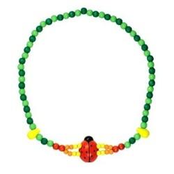 BINO Detský náhrdelník - lienka
