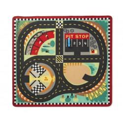 Hrací koberec pre deti 100x90 cm - Formula 1