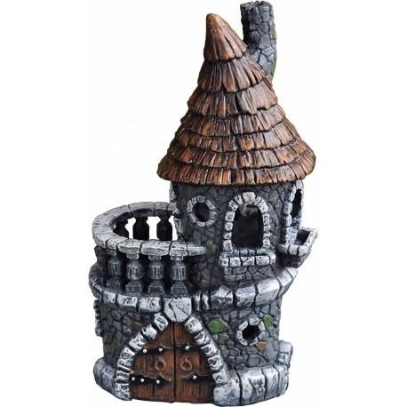 Domček pre miniatúrne záhradky - Kaštieľ