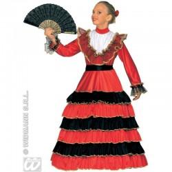 Detský karnevalový kostým - Španielská tanečnica