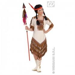 Detský karnevalový kostým - Indiánka 128cm