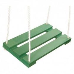 Detská drevená hojdačka - zelená