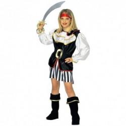 Detský karnevalový kostým - Pirátka
