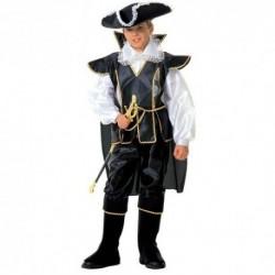Detský karnevalový kostým - Čierny kapitán