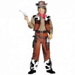 Detský karnevalový kostým - Kovboj veľ.128 cm