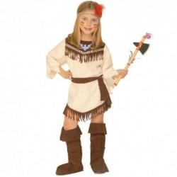 Detský karnevalový kostým - Indiánka veľ.116cm