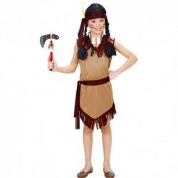 Detský karnevalový kostým - Indiánka veľ.128 cm