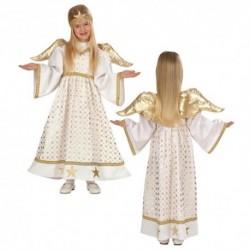 Detský karnevalový kostým - Anjelik s krídlami veľ.98 cm