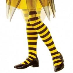 Detské pančuchy ku karnevalovým kostýmom - včielka
