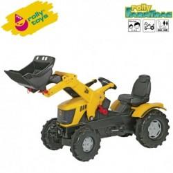 Rolly Toys Detský šlapací traktor FarmTrac JCB 8250 s lyžicou