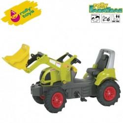 Rolly Toys Detský šlapací traktor FarmTrac Claas Arion 640 s lyžicou