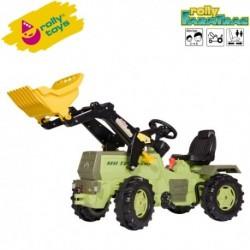 Rolly Toys Detský šlapací traktor FarmTrac Mercedes Benz 1500 s lyžicou