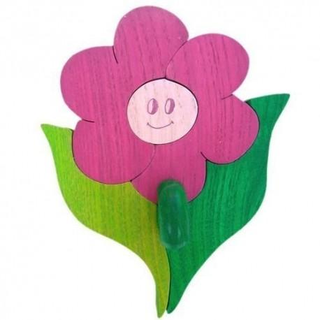 Detský minivešiak - kvietok fialový
