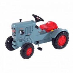 BIG Detský šliapací traktor Eicher Diesel ED 16 modrý