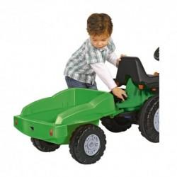 BIG Detská vlečka k traktoru zelená