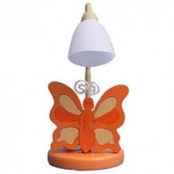 Detská stolná lampa - motýľ oranžový