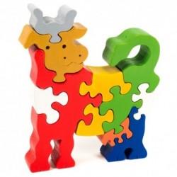 Puzzo 3D puzzle - kravička