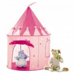 IPLAY Detský stan na hranie Ružový hrad