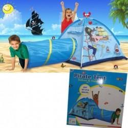 IPLAY Detský stan na hranie s tunelom Pirát