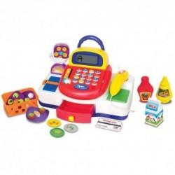 KIDDIELAND detská elektronická pokladňa Activity so zvukovými a svetelnými efektmi