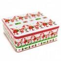 Vianočné plechové dózy