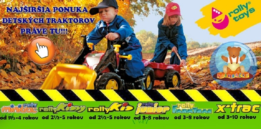 Detský traktor
