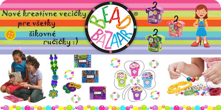 Bead Bazaar koralky a hračky